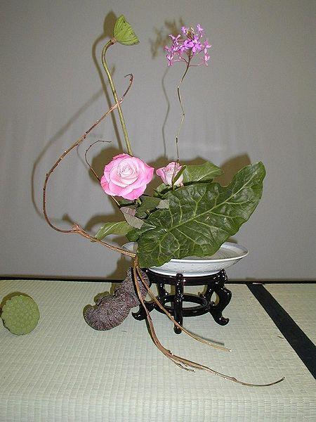 L'ikebana ou la voie des fleurs