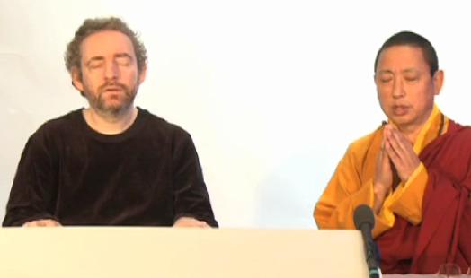 Lama Gyurmé et J-P Rykiel chantent la paix