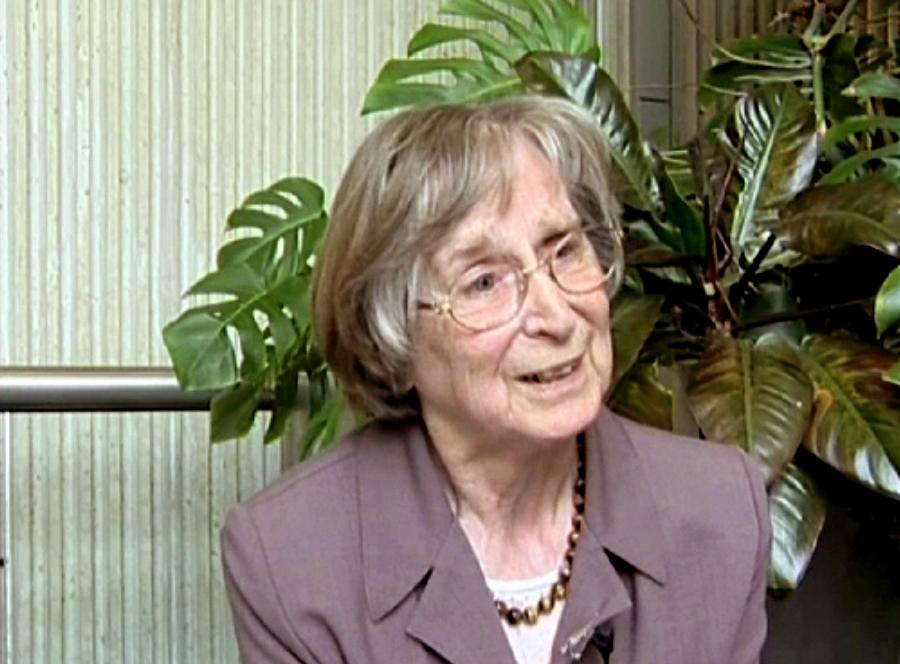La non violence par Hildegard Goss-Mayr